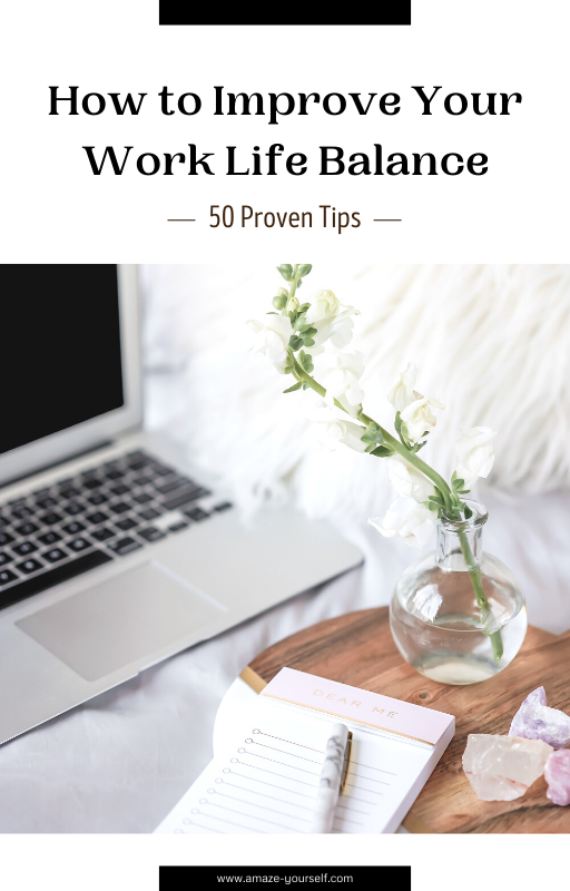 eBook 'How to improve your work-life balance with 50 proven tips'