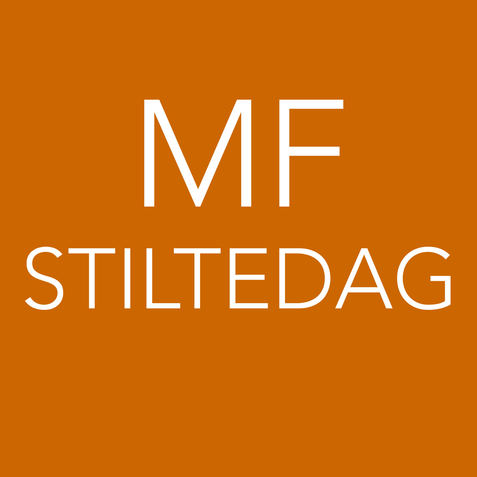 [MF-STD] Stiltedag 10 november 2018